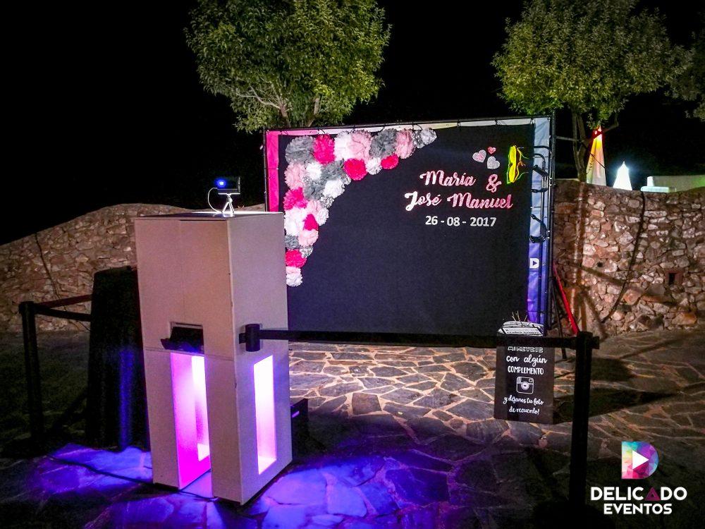 Fotomaton para bodas Huelva